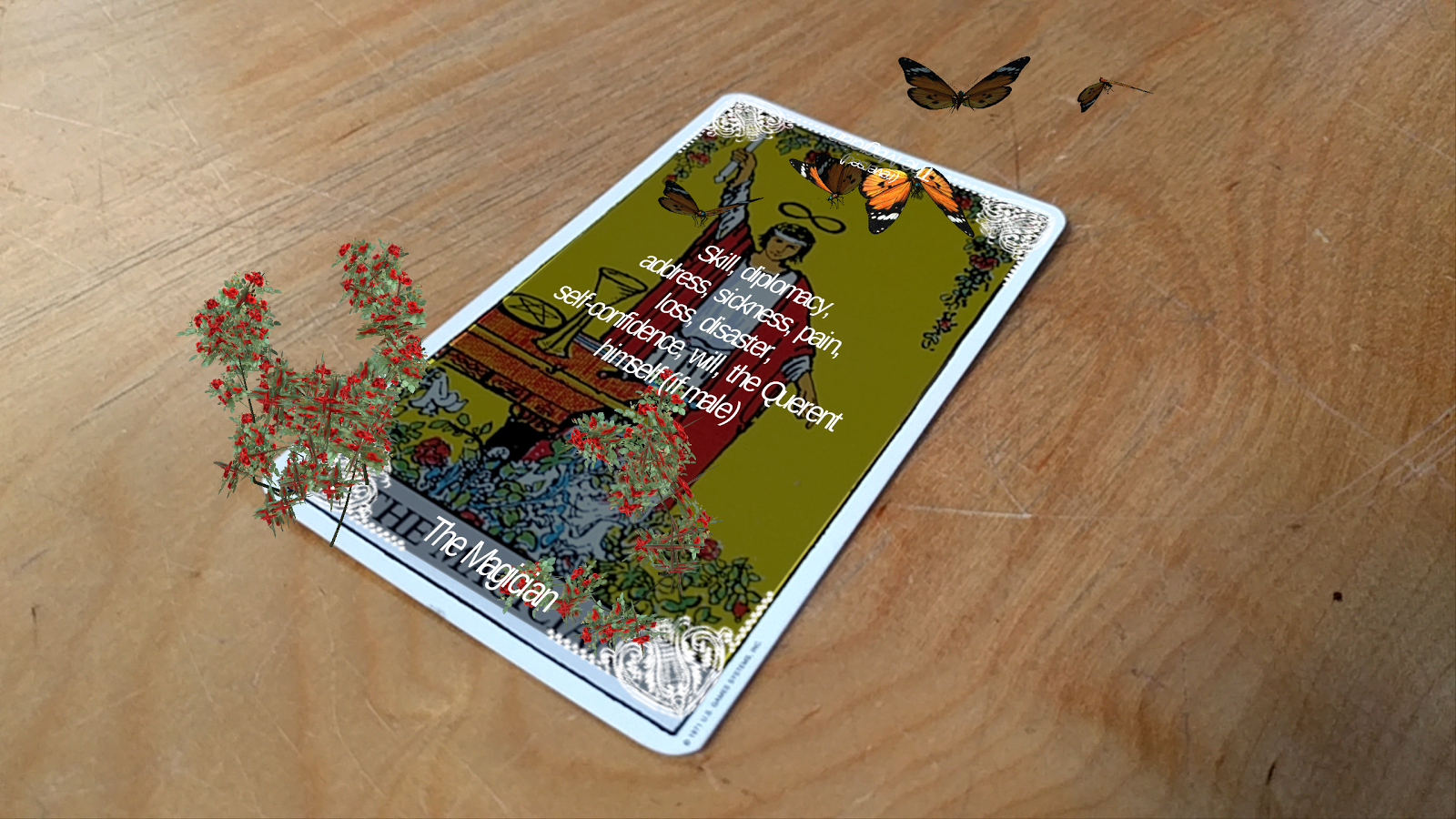 The Augmented Tarot Screenshot 3