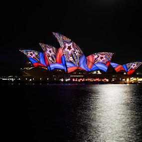 Vivid Sydney by Helen Tweedie - Buildings & Architecture Statues & Monuments
