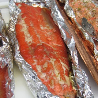 Grilled Candied Salmon
