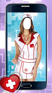 Sexy Nurse Photo Montage - screenshot