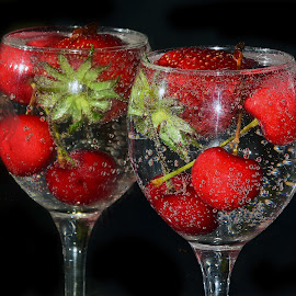 red fruits by LADOCKi Elvira - Food & Drink Fruits & Vegetables