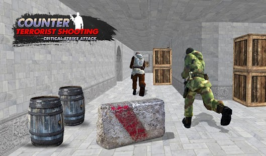 Counter Terrorist Shooting Critical Shoot Attack