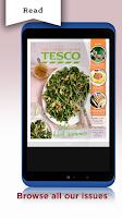 Screenshot of Tesco Magazines – Food & Drink
