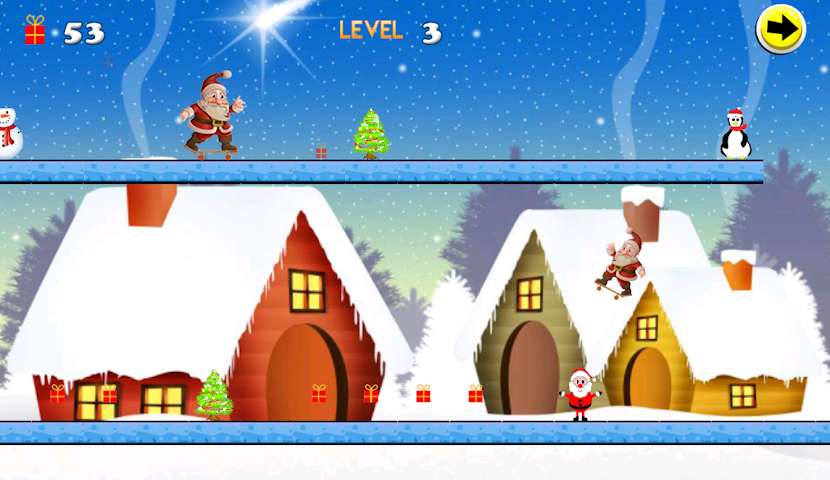 android Christmas Skateboard Screenshot 3