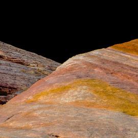 Stratification by Richard Michael Lingo - Nature Up Close Rock & Stone ( nature, stratification, colors, stone, rock )