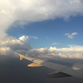 the view from the plane by Liza Del Rosario - Instagram & Mobile iPhone ( nilo, badz, liza, milen, kyle,  )
