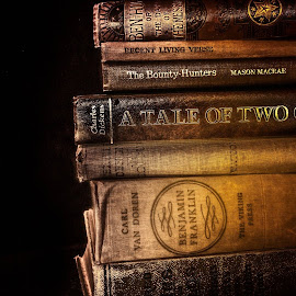 by Anthony Doyle - Artistic Objects Still Life ( books )