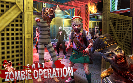 SWAT: ZOMBIE OPERATION - screenshot