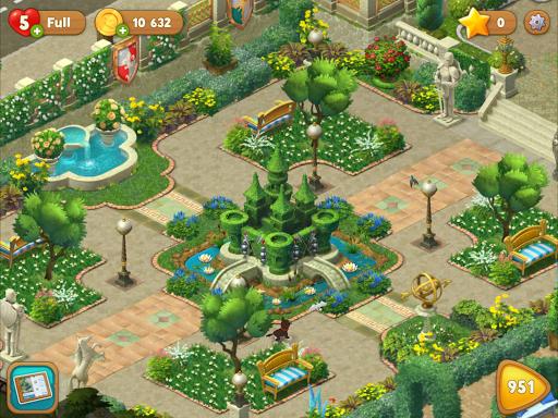 Gardenscapes screenshot 13