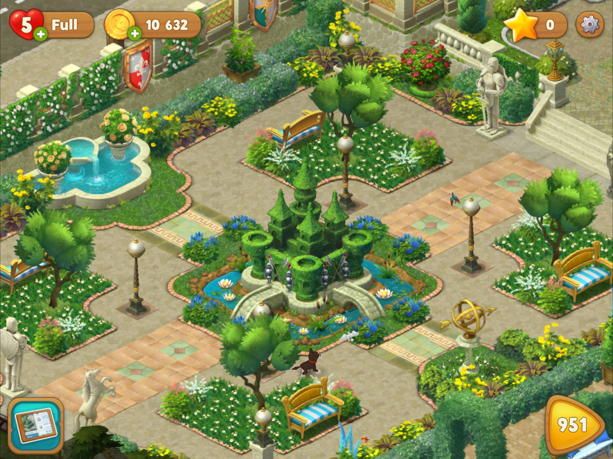 Gardenscapes - New Acres Screenshot 12