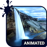 Waterfall Animated Keyboard APK Image