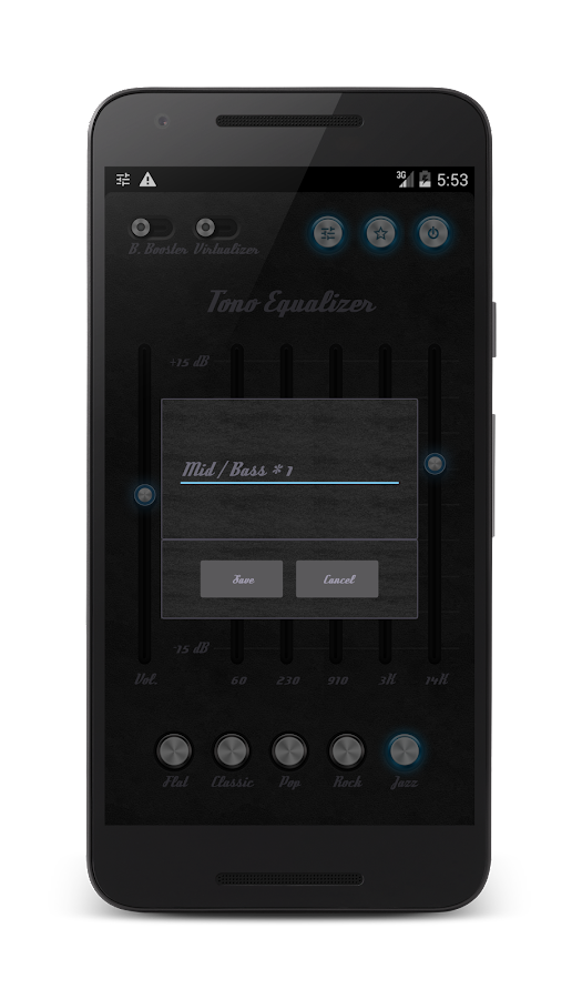 Tono Equalizer Ad-Free Screenshot 1