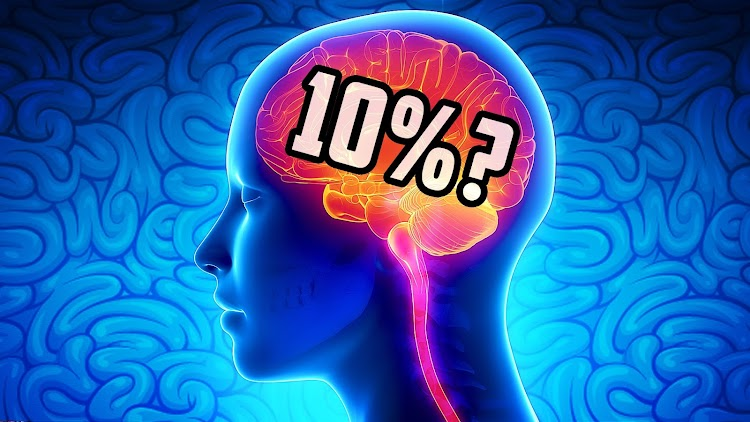 We use only 10% of our brain