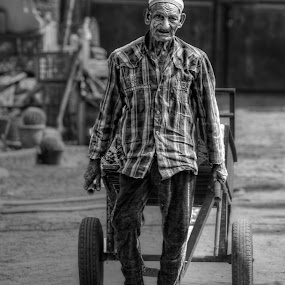 Never too Old by Tawfik Dajani - People Portraits of Men