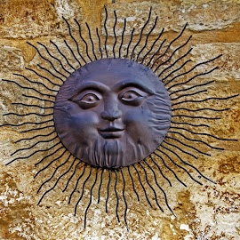 Sun ornament by Michael Moore - Artistic Objects Other Objects
