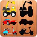 Vehicles Puzzles For Toddlers APK for Bluestacks