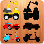 Vehicles Puzzles For Toddlers Icon