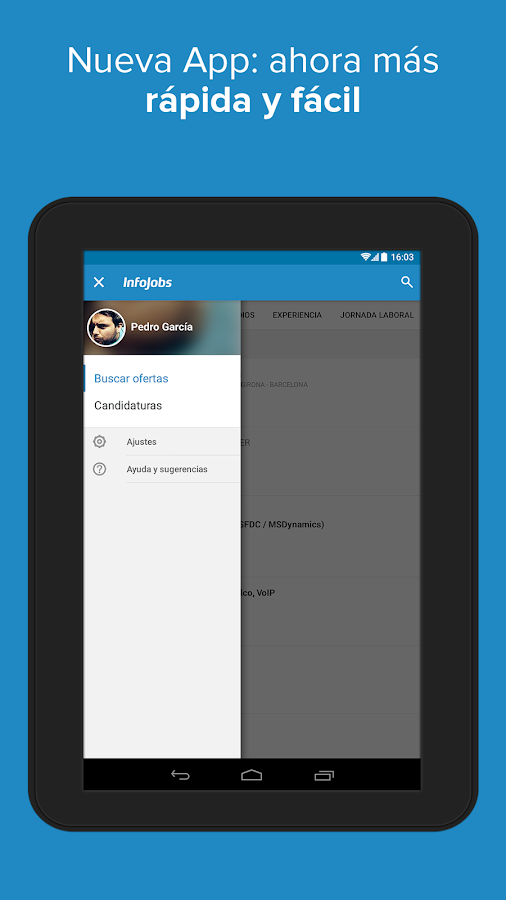 InfoJobs - Job Search Screenshot 9