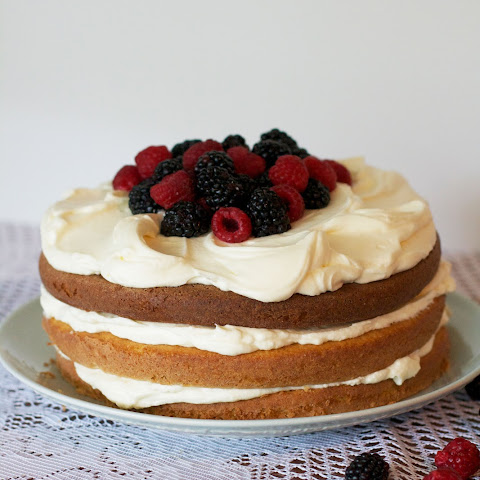 Berry Buttermilk Layer Cake
