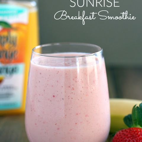 Sunrise Breakfast Smoothie