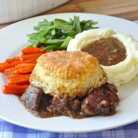 Root Vegetable And Mushroom Pie With Rosemary Biscuit Topping Recipes ...