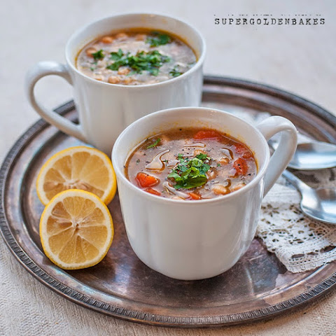 Revithosoupa - Greek chickpea soup