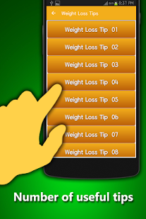 Weight Loss Tips- screenshot thumbnail