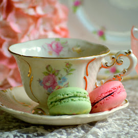 Tea and Cookies by Rhonda Kay - Food & Drink Candy & Dessert (  )