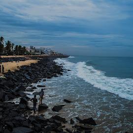 Blue... by Cam Bala - Landscapes Beaches ( vanitha, thiyagu rajan, sneha, hemalatha swaminathan, cambala )