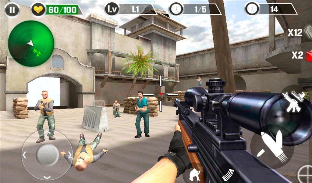 Scharfschütze schießen Überleben android spiele download