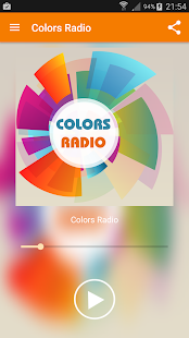 Colors Radio - screenshot