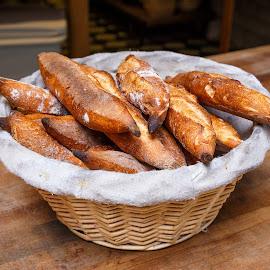 Bread Basket  by Vinod Kalathil - Food & Drink Cooking & Baking ( bakery, california, food, bread )