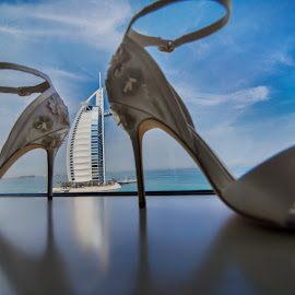 Wedding in Dubai by DMYTRO SOBOKAR - Wedding Details ( shoes, sobokar.com, details, creative, dubai, wedding, pentaxk1, weddingpjotography, sobokar, architecture, weddingphotographer, weddingphoto )
