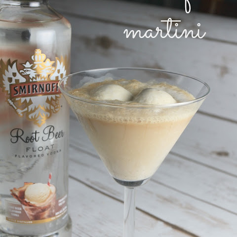 Root Beer Float Martini