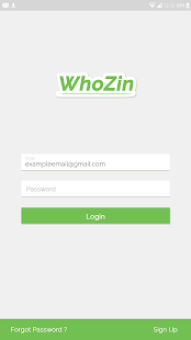 Whozin - screenshot