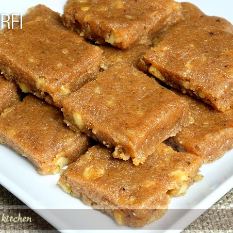 Bread Burfi (Indian Fudge) Recipe by Manjula