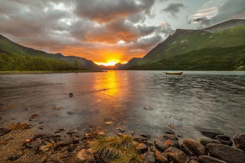 Sunset night by Benny Høynes - Landscapes Sunsets & Sunrises (  )
