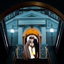 by Bojan Jovanovic - Wedding Bride & Groom