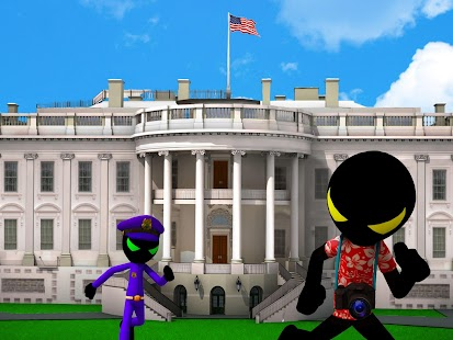 Stickman White House Escape