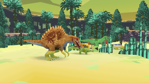 Dino Walk Simulator - screenshot