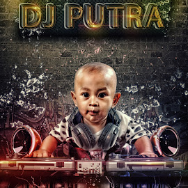 Dj Baby by Charles Mawa - Digital Art Things ( charlesmawa, digital art, display, digital )