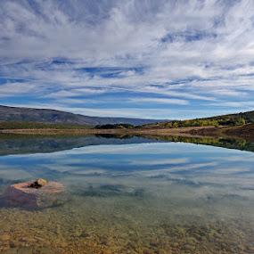 by Nediljko Prološčić - Landscapes Waterscapes ( clouds, water, mirror, lake, landscape )
