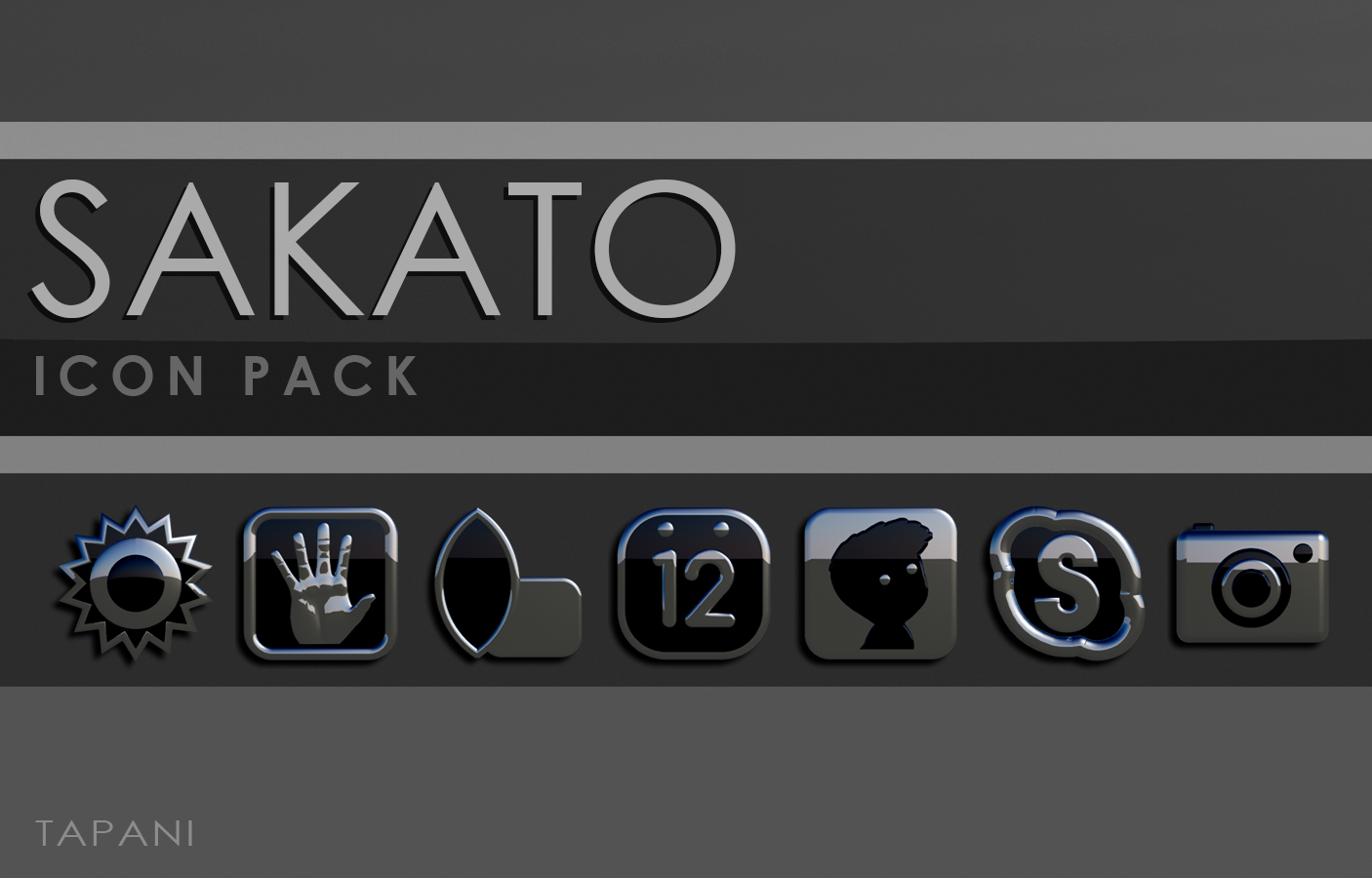 Icon Pack Sakato 3D Screenshot 8