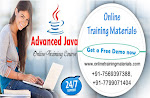 Advanced Java  Online Training in india