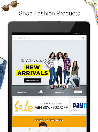 JABONG ONLINE SHOPPING APP screenshot 8