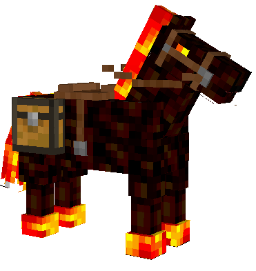 Skeleton Horse in Minecraft