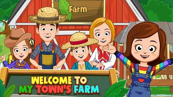 My Town : Farm Life Animals Game for pc