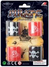 """Праздник, Праздник """"Игровой Набор Пират"""" Пружинки 4 шт."""