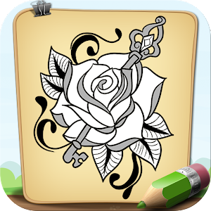 Cover art How To Draw Floral Tattoo