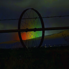 Partial rainbow by D.j. Nichols - Instagram & Mobile Android ( partial rainbow )